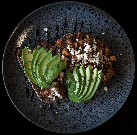 Seaford Rise, Australia: Delicious smashed avo for brekkie!