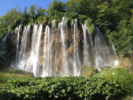 Plitvicka Jezera, Croatia: waterfalls in the park