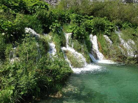 Plitvicka Jezera, Croatia: views in the park