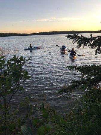 Carson-Pegasus Provincial Park: Kayaking