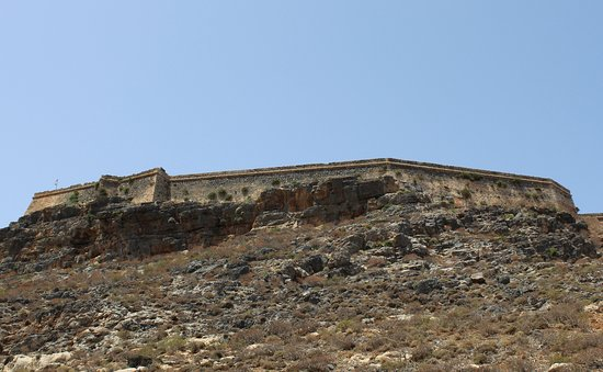 Gramvousa, Grecia: z dołu