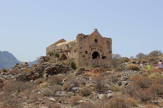 Gramvousa, Grecia: na górze