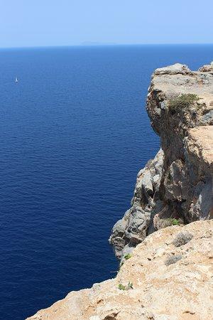 Gramvousa, Grecia: widok z góry