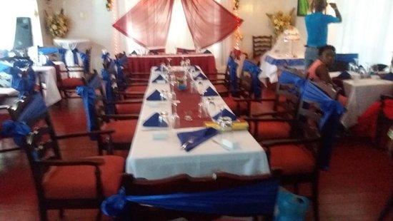 Westmoreland Parish, Jamaica: Wedding Reception.