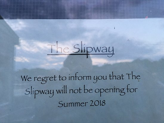 The Slipway: Bad news for Slipway patrons