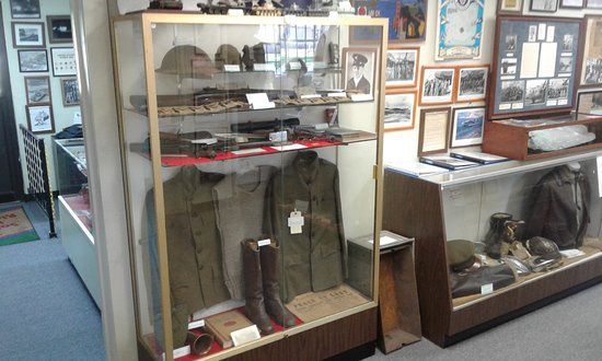 Kure Beach, NC: Museum display.