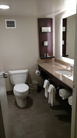 Delta Hotels by Marriott Kalamazoo Conference Center: Clean bathroom with lots of clean towels