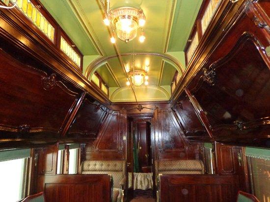 Hildene, The Lincoln Family Home: Inside the rail car