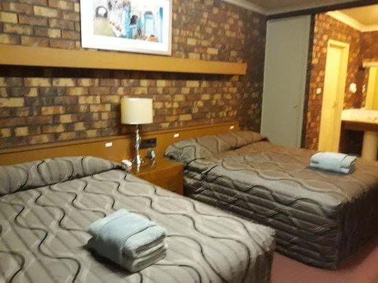 Kerang, Australia: Twin Bed Room