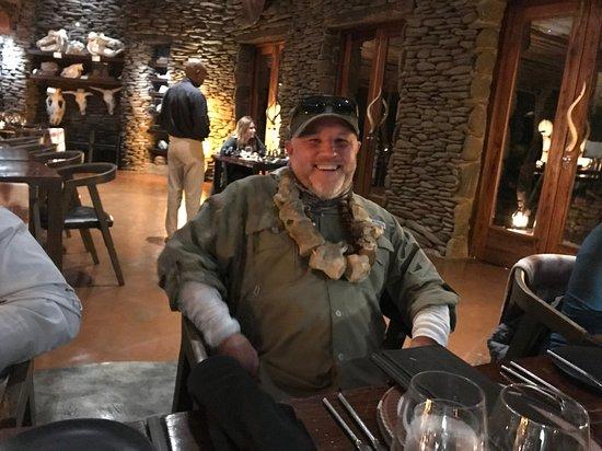 Singita Private Game Reserve, Afrika Selatan: Intimate atmosphere and settings throughout!