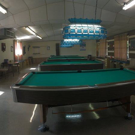Weslaco, TX: New pickle ball courts and updated billiards by adding new lighting