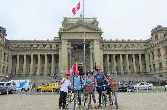 Visite en vélo du centre-ville de Lima
