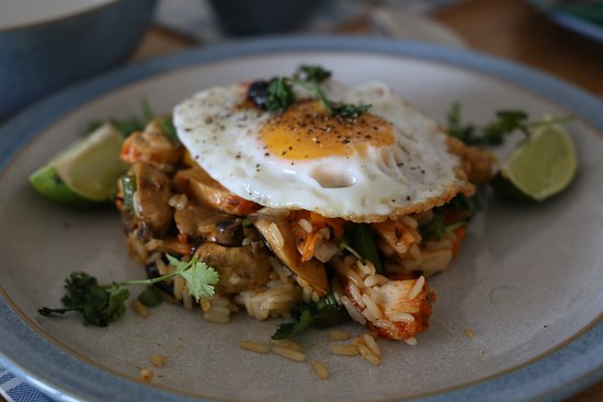 Appin, UK: Mike's unique (and simply brilliant) Thai breakfast