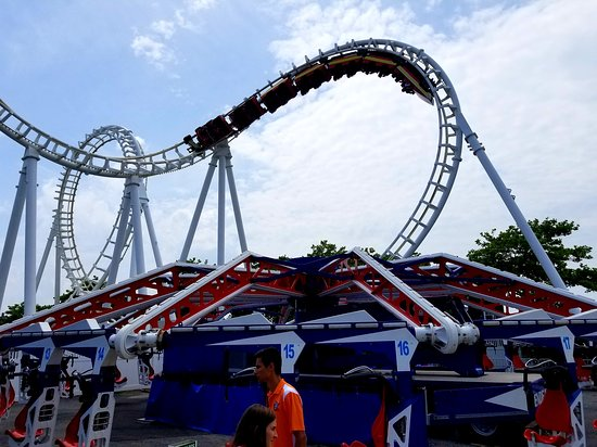 Trimper's Rides and Amusement Park: Trimper's is well known for its Boomerang coaster!