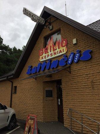 Elektrenai, Litvanya: Вид с дороги