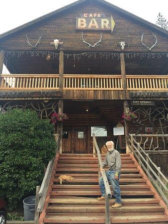 Kingston, ID: exterior of restaurant