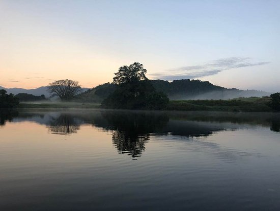 Daintree River at sunrise