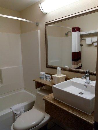 Westampton, Nueva Jersey: badkamer kamer 1