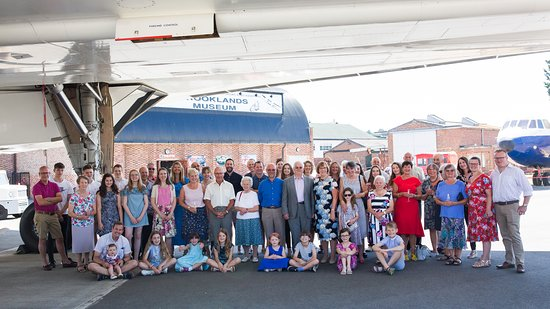 Brooklands Museum: Our friends and family