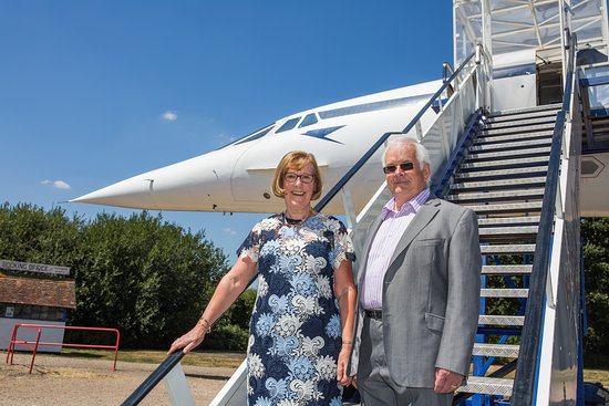 Brooklands Museum: A trip on Concorde