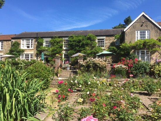 Lastingham, UK: View from the rose garden 1