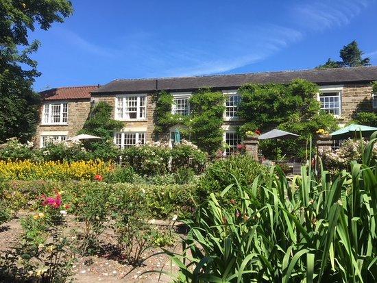 Lastingham, UK: View from the rose garden 2
