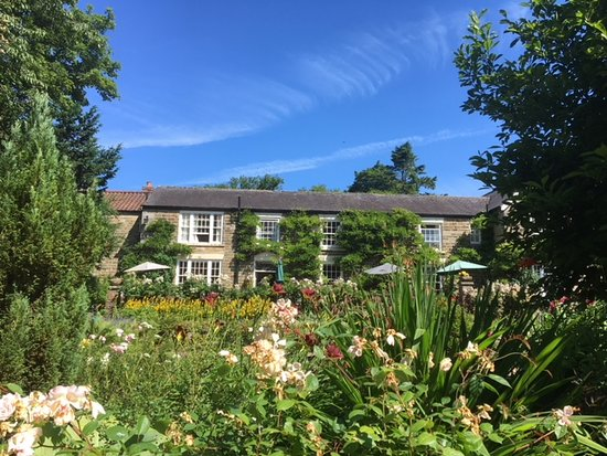 Lastingham, UK: View from the rose garden 3
