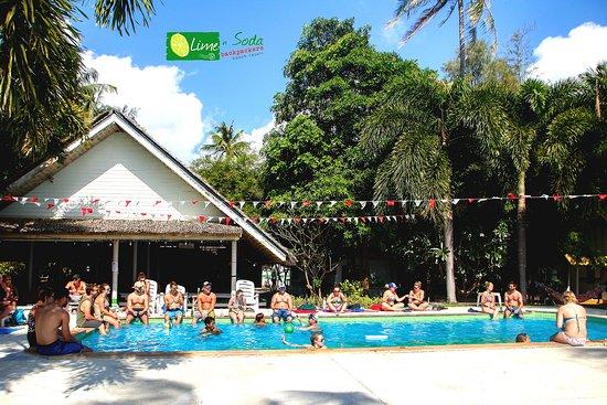 Lime n Soda Beach Front Resort : Lime n Soda Koh Phangan