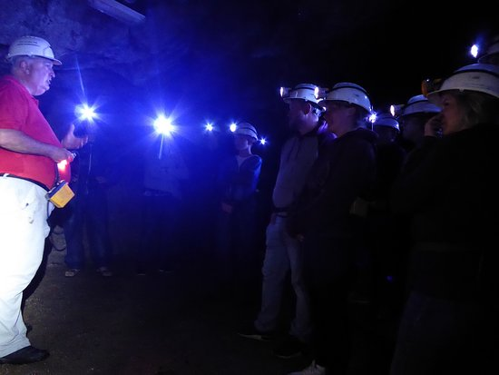 Wendron, UK: Group of Deep Mine adventurers July 2018