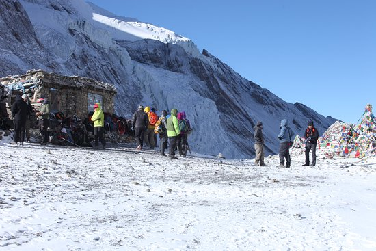 Thorang La Pass, Manang (Nepal) at 5416 meter.