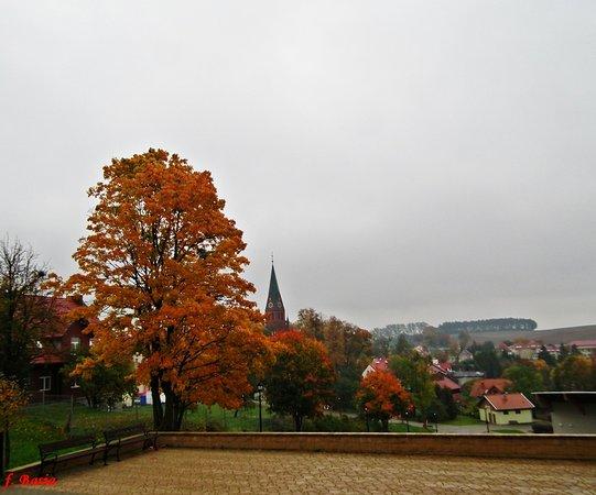 Gietrzwald, Polen: widok Sanktuarium w Gietrzwałdzie