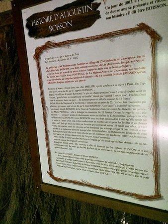 Les Brouzils, France : Une reconstitution émouvante
