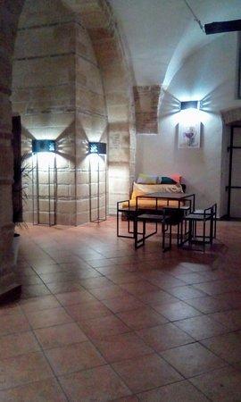 Irsina, Italie : Inside