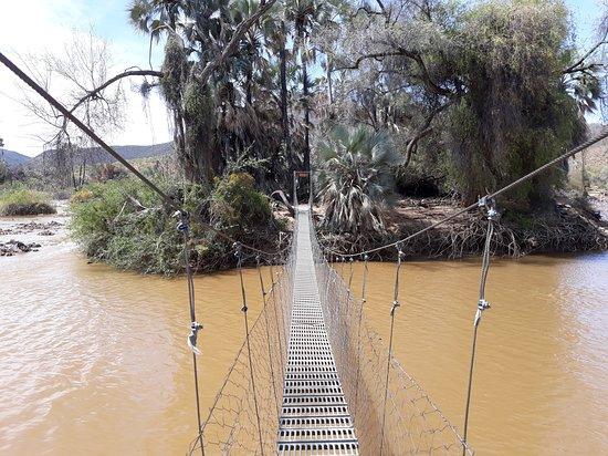 Epupa, นามิเบีย: Hängebrücke