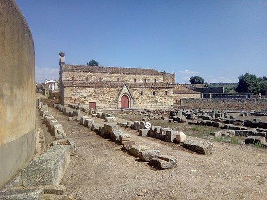Idanha-a-Nova, Portugal: Some of the many ancient Roman epigraphs