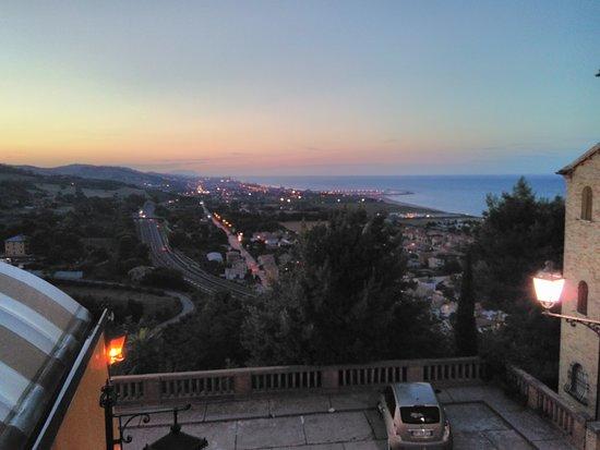 Torre di Palme, Italie : Vista dal balconcino della veranda