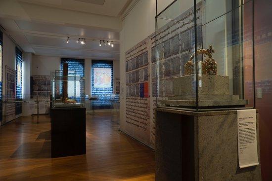 Ausstellung ›Thietmars Welt. Ein Merseburger Bischof schreibt Geschichte‹ in der Willi-Sitte-Gal