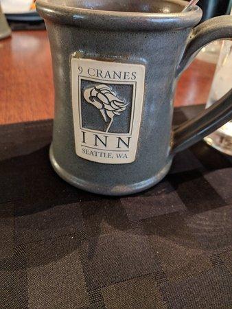 9 Cranes Inn: Nice coffee mugs