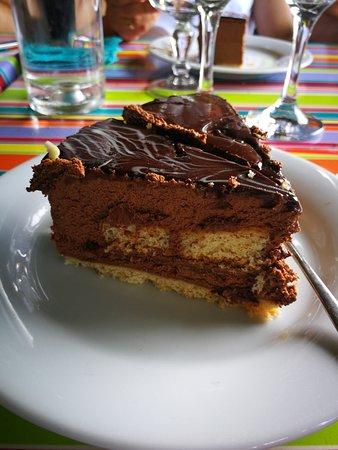 La Pergola : gâteau chocolat