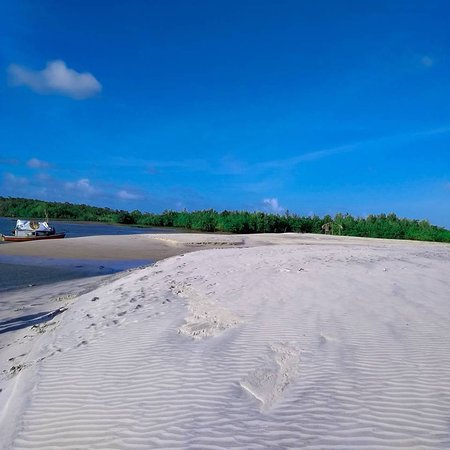 Turiacu, MA: Praia de Igarapé Grande Maranhão
