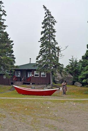 White Point Beach Resort: Oceanside cabin