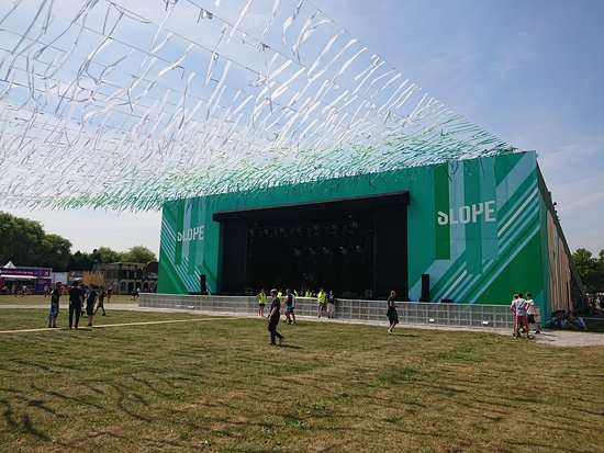 Rock Werchter: The Slope