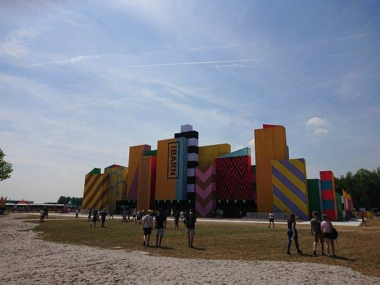 Werchter, België: The Barn