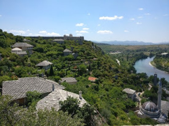 Pocitelj view from the fort