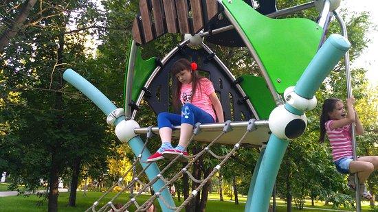 Park Garden of the Future: Детская площадка