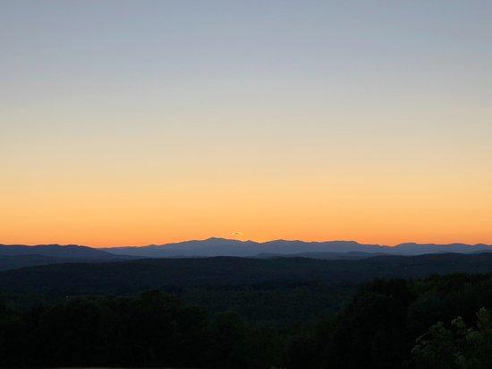 Casco, ME: Sunset