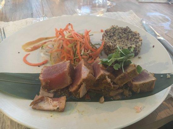 Restaurant L'Hemingway: Tataki de thon