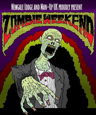 Newgale, UK: Zombie Weekend Poster