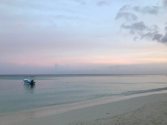 Bananarama Dive & Beach Resort: View in the morning from the transat