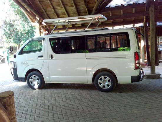 Embakasi, Kenya: The exursion van